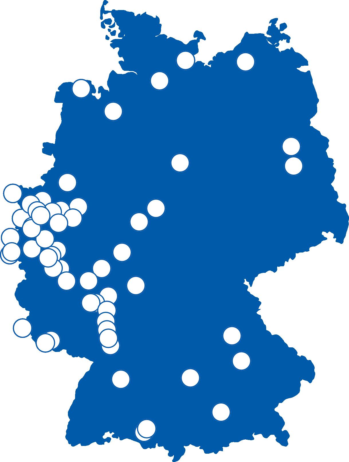 Landkarte Studierende Master Rechtspychologie
